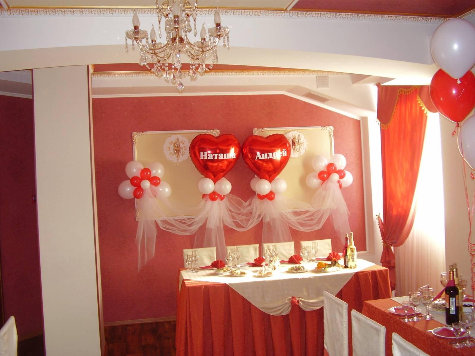 Оформление своими руками зал на свадьбу своими руками